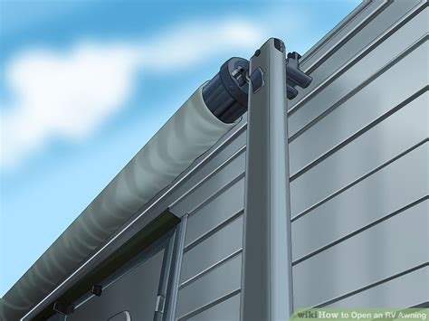 how to open trailer awning how to open an rv awning 7 steps with pictures wikihow