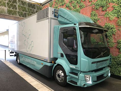 Volvo Electric Truck 2019 by Drive Volvo Fl Electric Trucks Show The Technology