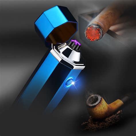 Korek Api Elektrik Usb Electric Cigarette Lighter T1310 2 noble hexagon korek api elektrik pulse plasma usb lighter jl117 black jakartanotebook