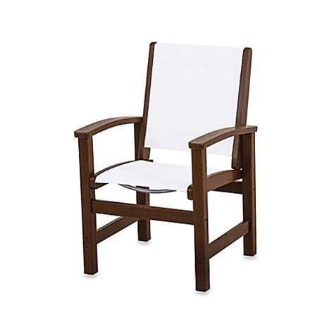 Polywood Dining Chairs Buy Polywood 174 Coastal Dining Chair In Mahogany White From