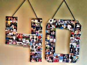 Handmade Photo Collage For Birthday - 78 images about 40th birthday ideas on