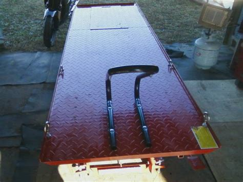 motorcycle bench plans pdf diy free plans to build a motorcycle lift download
