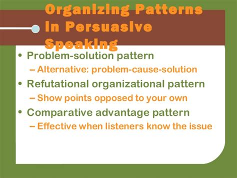 comparative advantages pattern of organization real comm2e ch16
