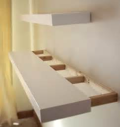 How To Build Floating Bookshelves White Floating Shelves Diy Projects