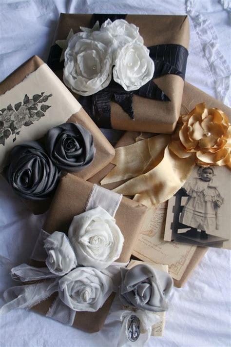 pretty gift wrap gift wrapping ideas pretty petals