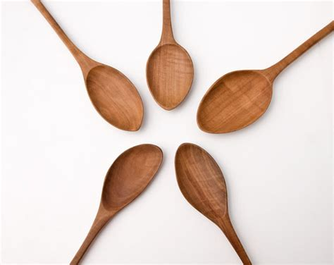 hand carved wooden spoon wood spoons large cooking spoons