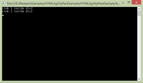 tutorial html agility pack getting started with html agility pack