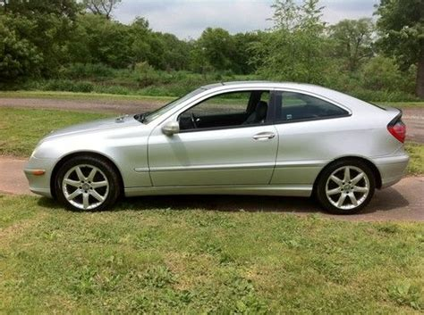 purchase used 2002 mercedes c230 kompressor 2 3 w sport