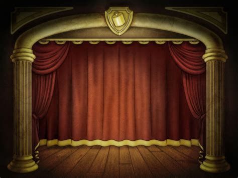 Stage Backgrounds Wallpaper Cave Shakespeare Powerpoint Template