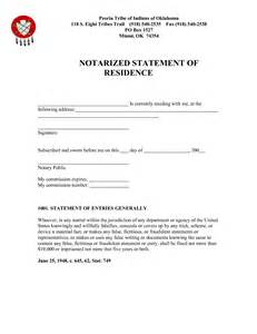 best photos of letter of residency notarized sample