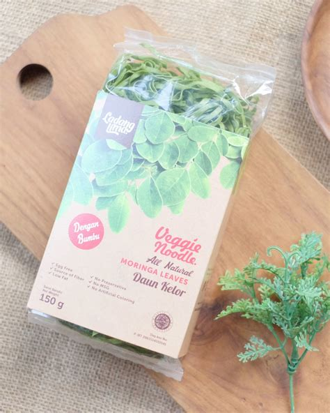 Ladang Lima Veggie Noodle Spinach Egg Free All Low ladang lima veggie noodle moringa leaves 150gr