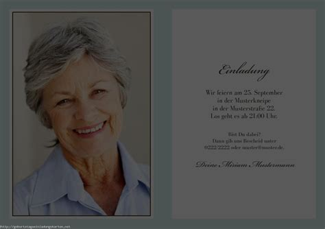 Muster Einladung Zum 60 Geburtstag Einladungen 60 Geburtstag Einladungen Geburtstag