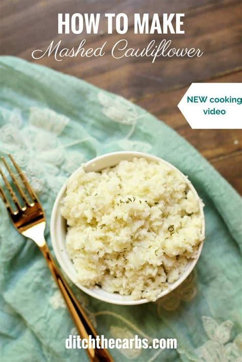 Cooker Kitchen Cauliflower by Low Carb Cauliflower Mashed Potatoes