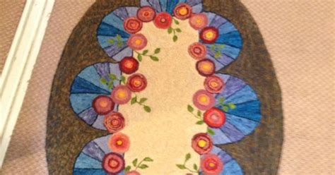 eric sandberg rug hooking doiley pattern by michele micarelli hooked by psoinas class taught by eric sandberg my