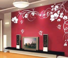 lily living room bedroom wall decals sticker glass murals paper mural luxury wallpaper for walls