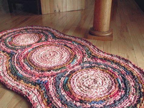 Handmade Rugs How To Make - 1000 ideas about crochet rag rugs on crochet