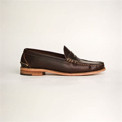 beefroll loafer oak bootmakers beefroll loafer