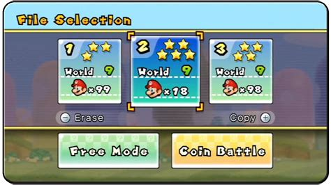Shiny Medias Wiiwii by New Mario Bros Wii 5 Shiny Save File