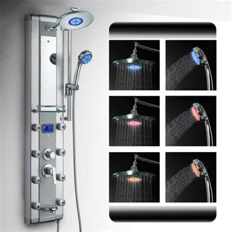 Shower Components Systems Shower Panels Steam Shower Bathroom Showers Infrared
