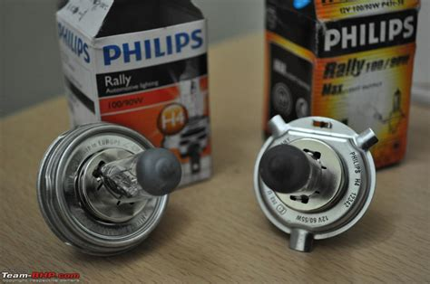 philips rally bulbs headls team bhp