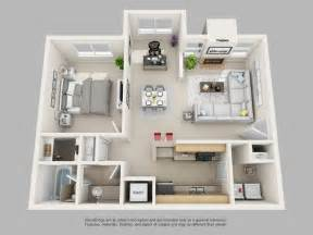 3d apartment floor plans park on clairmont apartments park on clairmont