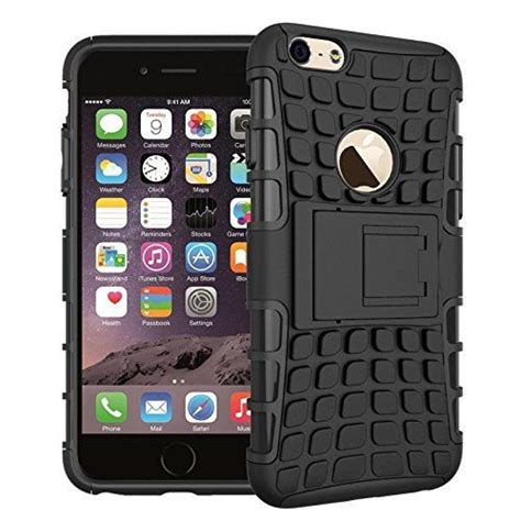 Iphone 6 Plus Armor Defender With Standing Wings Back Cover wow imagine defender tough hybrid armour shockproof pc tpu with kick stand rugged back