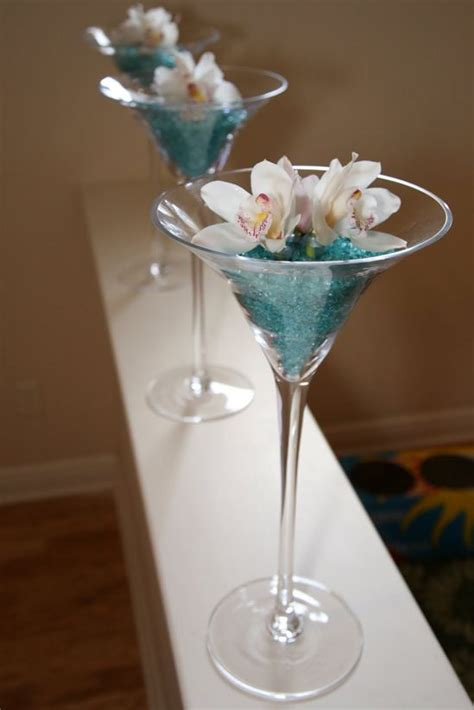 lade martini 16 best images about martini glass centrepieces on