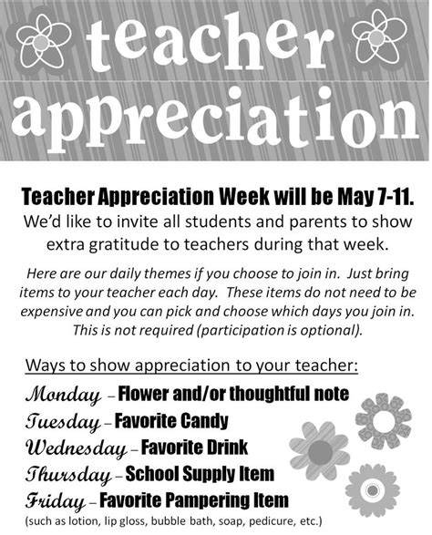appreciation week 2014 letter to parents 17 best ideas about appreciation week on