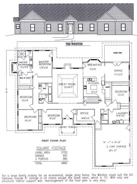Six Bedroom House Plans by 20 Best Ideas About 6 Bedroom House Plans On