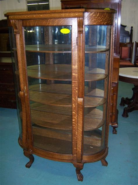 Rounded Glass Curio Cabinet by Rk343 2l Jpg 86
