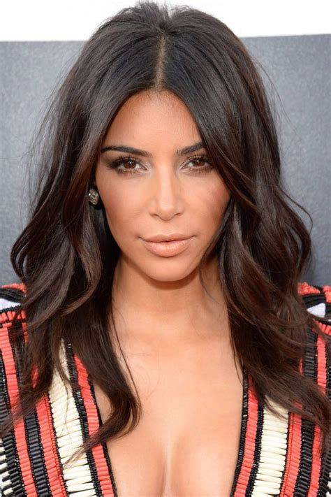 pictures best haircuts for long faces kim kardashian long face short top 15 long black hairstyles don t miss this kim