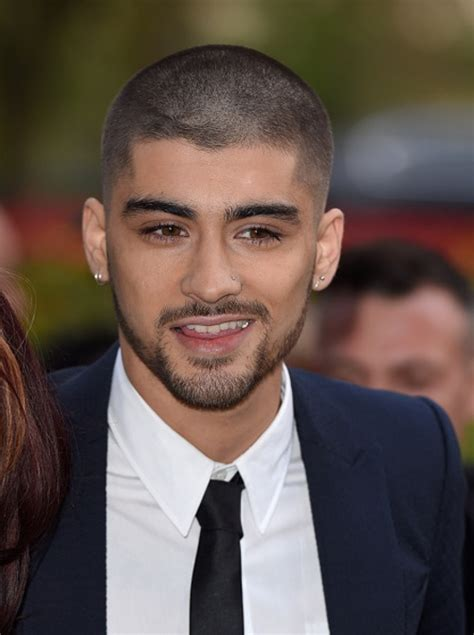 zayn malik s new hairstyle shaved head