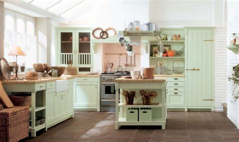 country style kitchens ideas mint green country kitchen decor interior design ideas