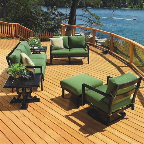 Gensun Outdoor Furniture by Seville Seating Patio Set By Gensun The O Jays