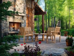 Outdoor Fireplace Ideas by 20 Cozy Outdoor Fireplaces Outdoor Design Landscaping
