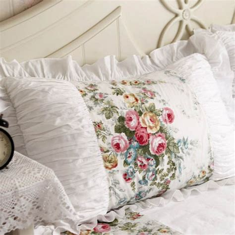 Ruched Pillow Sham by Ruffle Pillow