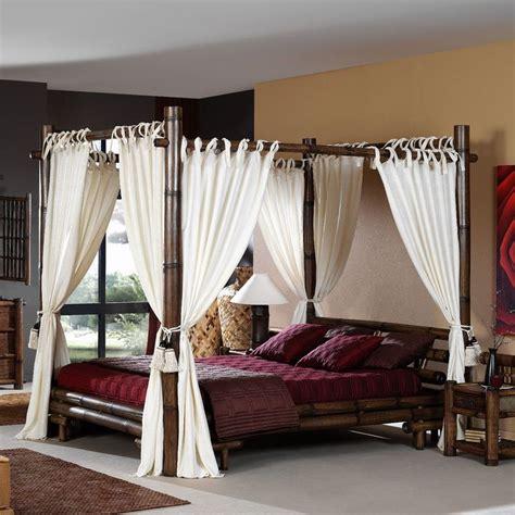 vorhang aus bambus 220 ber 1 000 ideen zu himmelbett vorhang auf