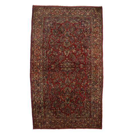gallery furniture rugs antique sarouk gallery rug at 1stdibs