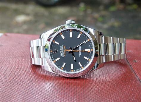 Jam Tangan Rolex Millgaus 5 jam tangan for sale rolex millgaus ref 116400 black