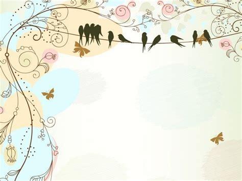 presentation themes tumblr antique floral border ppt backgrounds borders frames