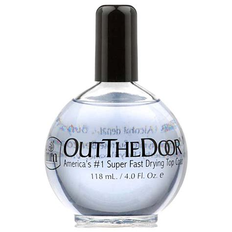 out the door top coat fast drying shine