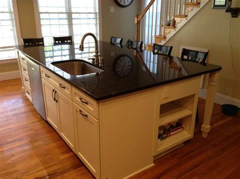 large kitchen island with seating and storage multi functional kitchen island seating food prep