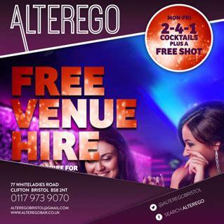 venue hire cocktail class alterego mobile bar hire bristol