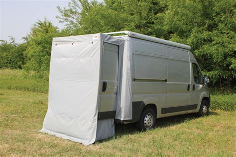 rear door van awnings fiamma rear door cover fiat ducato after june 2006