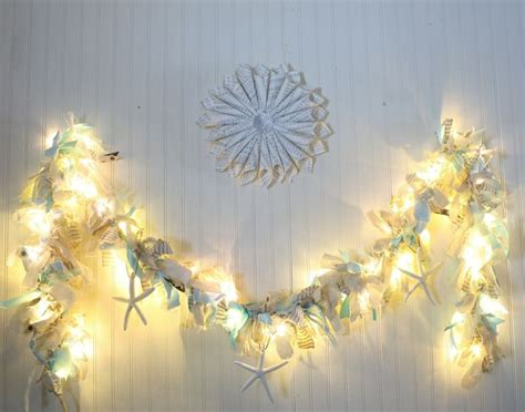 make your own lighted raggamuffin garland