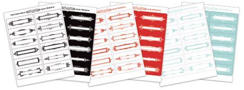 vintage framework labels free printables cathe holden s