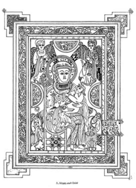 book of kells fine art coloring kidsart com