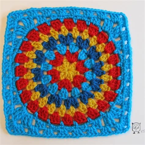 pattern crochet circle the 10 most beautiful crochet granny squares ever