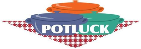 Potluck Clipart