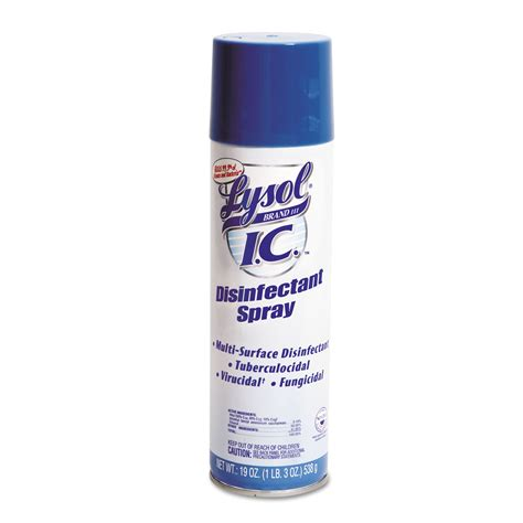 buy lysol brand iii ic disinfectant spray oz aerosol carton  janeice products